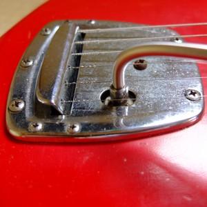 1966 Mory Jazzmaster tremolo tailpiece. Fender-esque flavour.