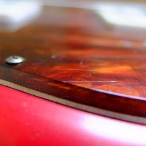 These pickguards are thick, and two ply.
