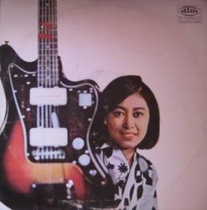 Obscure 1965 Mory Jazzmaster on the cover of an obscure Micky Anderson Record